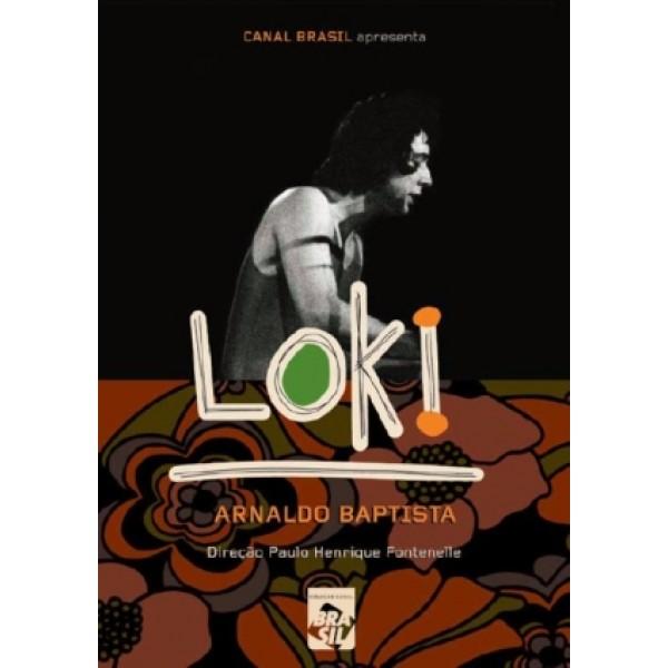 DVD Arnaldo Baptista - Loki