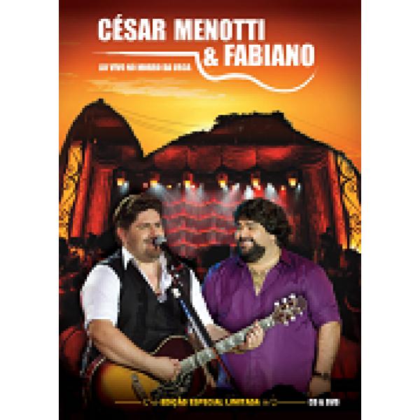 DVD + CD César Menotti e Fabiano - Ao Vivo No Morro da Urca
