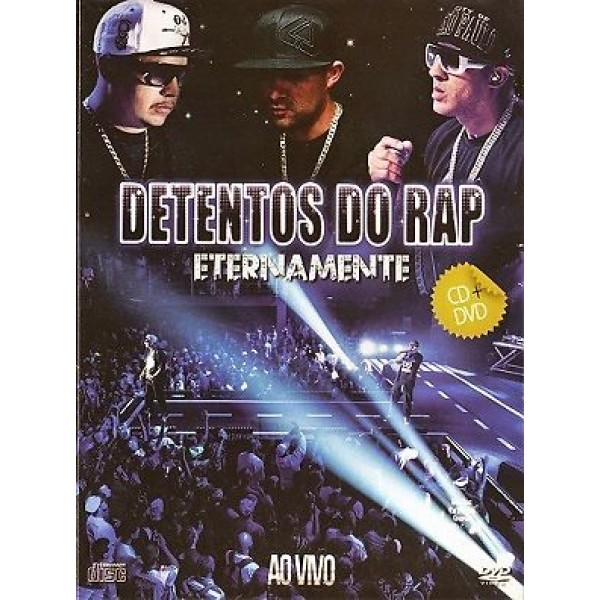 DVD + CD Detentos do Rap - Eternamente Ao Vivo
