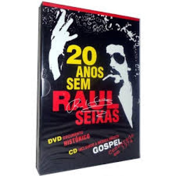 DVD + CD 20 Anos Sem Raul Seixas