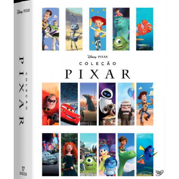 Box Coleção Pixar (17 DVD's)