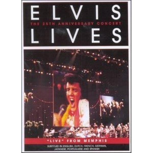 DVD Elvis Presley - Elvis Lives: The 25th Anniversary Concert (IMPORTADO)