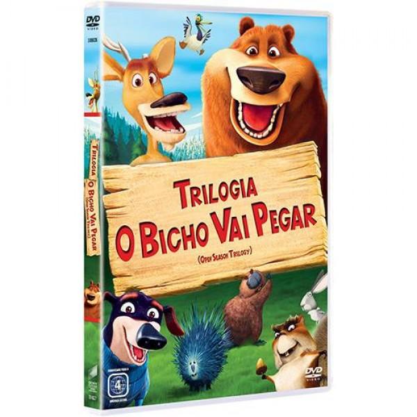 Box Trilogia O Bicho Vai Pegar (3 DVD's)