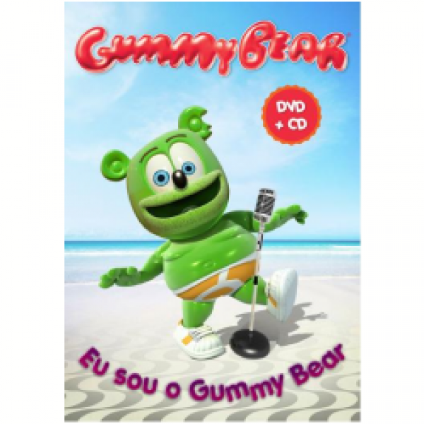 DVD + CD Gummy Bear - Eu Sou o Gummy Bear