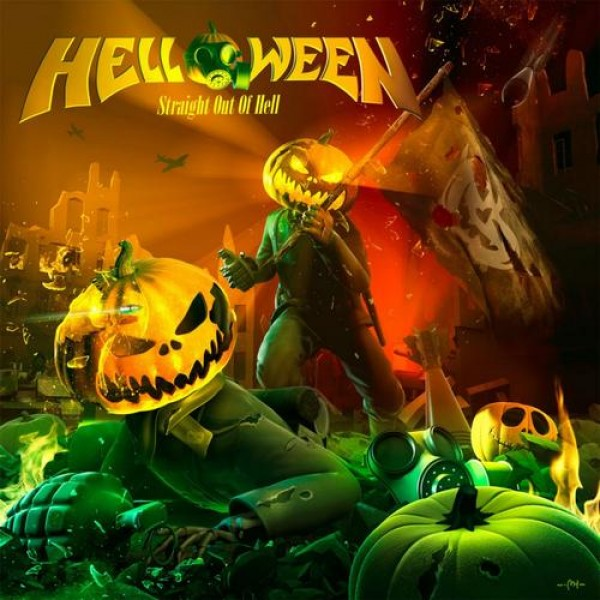 CD Helloween - Straight Out Of Hell (Remastered 2020 - Digipack)