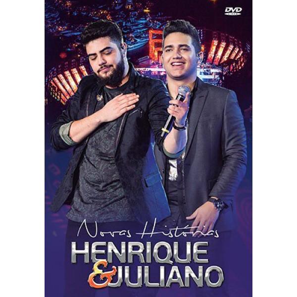 DVD Henrique e Juliano - Novas Histórias