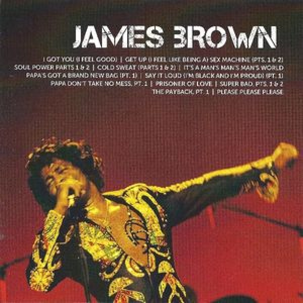 CD James Brown - Icon