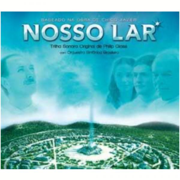 CD Nosso Lar - Trilha Sonora Por Philip Glass