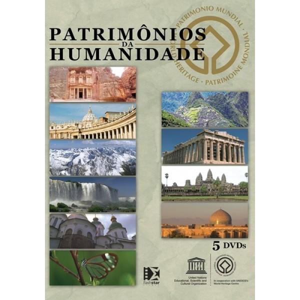 Box Patrimônios da Humanidade (5 DVD's)